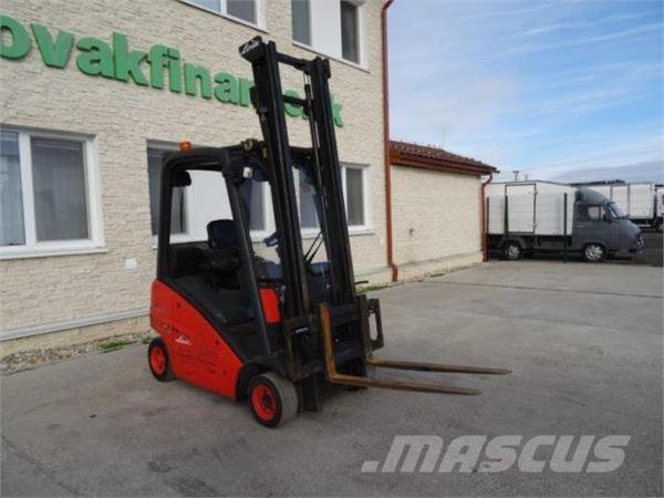 used linde h 16 stapler 20550 mth vin 441 lpg forklifts year 2007 price 5 462 for sale. Black Bedroom Furniture Sets. Home Design Ideas