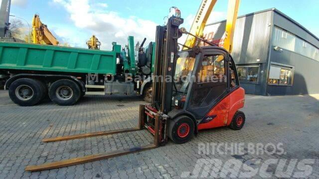 Linde H 35 T-02 EVO / SS / ZV / Duplex Mast / Gas /