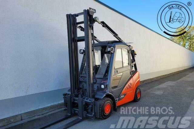 Linde H25T-02 EVO Drehbarer Fahrersitz