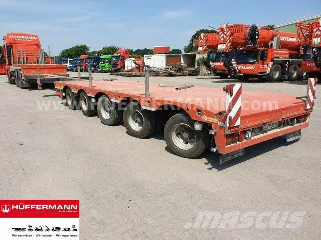 Lintrailers 5-achs Tele-Semi-Tieflader / S5A