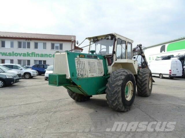 LKT 120 A Harvester 4x4 with hydraulic crane