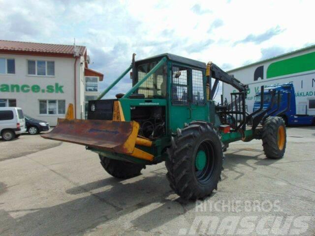 LKT 81 standard 4x4 crane,timbercarrier, vin 762