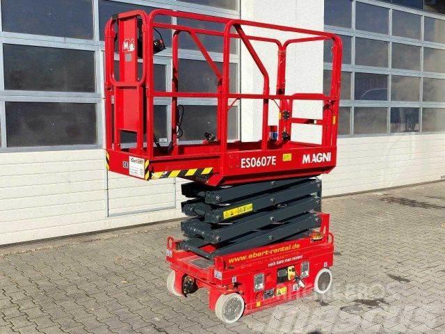Magni ES0607E Scherenbühne // 5.6m Arbeitshöhe