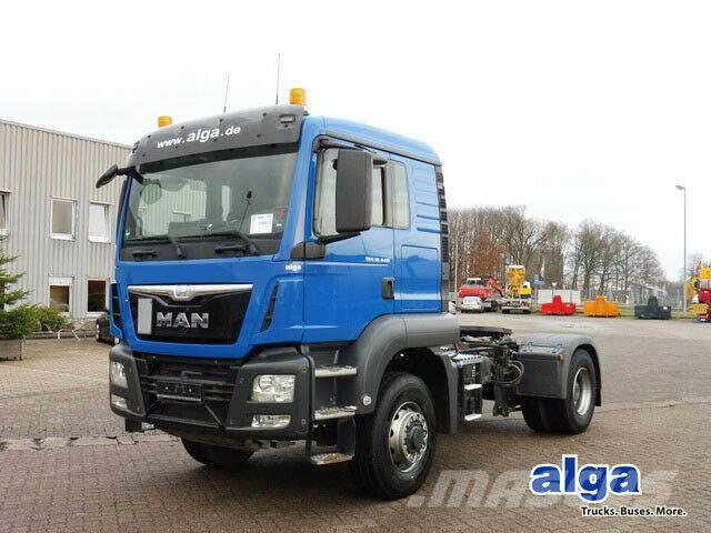 MAN 18.440 TGS BLS 4x4, Allrad, Euro 6, Hydraulik