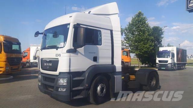 MAN 18400 tgs manual, 2012, Dragbilar