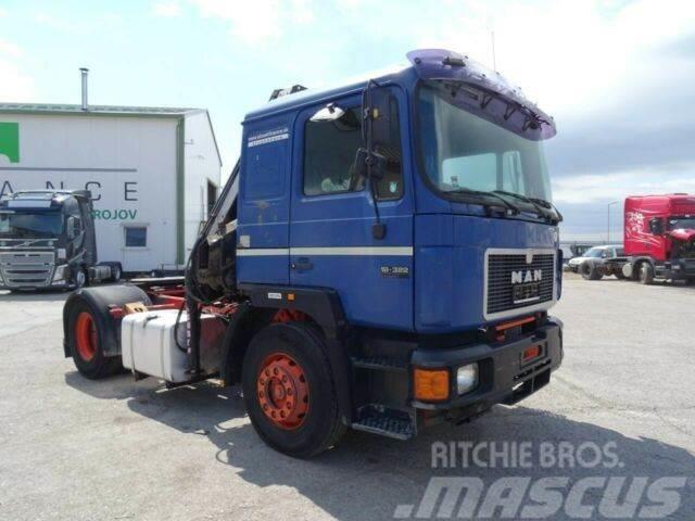 MAN 19.422 with hydraulic crane HIAB 125, vin 444