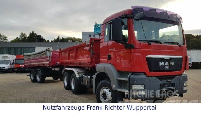 MAN 26.440 6x4,221TKM,+Schwarzmüller Tandem 2013