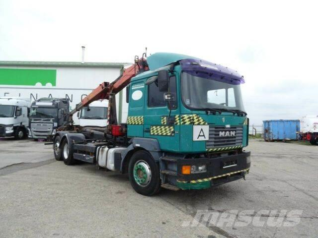 MAN 26.464 for containers 6x2, EURO 2 vin 802