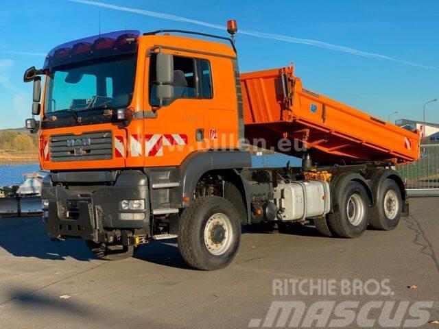 MAN 28.400 TGS 6x4/4BL Winterdienst / Meiler Kipper