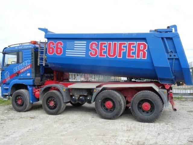 MAN 41.480 8x4 Dumper kipper mit bordmatik