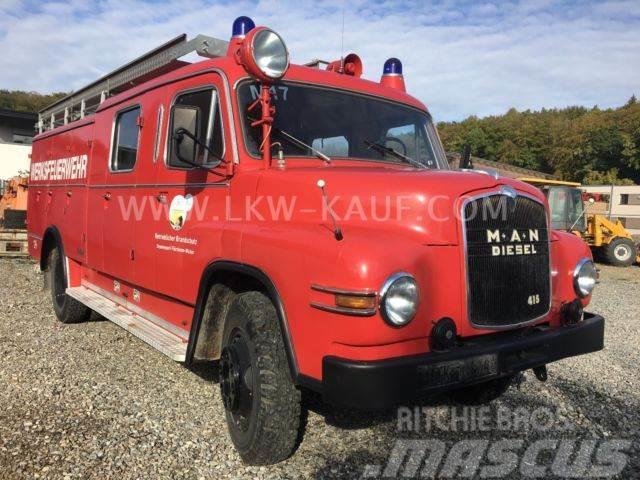 MAN 415 L1 LF 16 Hauber Feuerwehr H-Zulassung