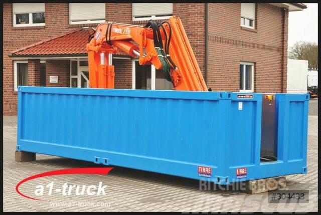 MAN Container mit Ladekran Tirre 331 Funk, unbenutzt
