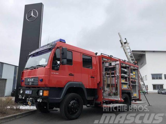 MAN LE 10.180 4x4 Allrad Feuerwehr Full Equipment