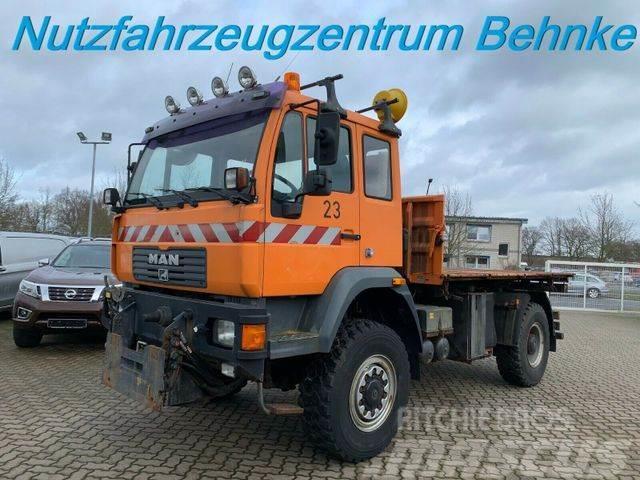 MAN LE 16.220 BB 4x4 Pritsche/Klima/Standhzg./Tempom