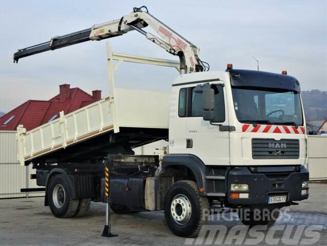 MAN TG 310 A Kipper 4,50m+Bordmatic/Kran*4x2!