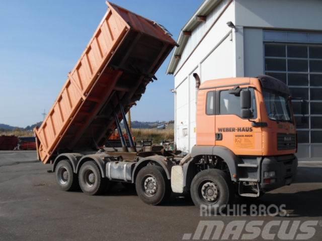 MAN TG-A 35.430 8x4 Meiller Kipper Bordmatik