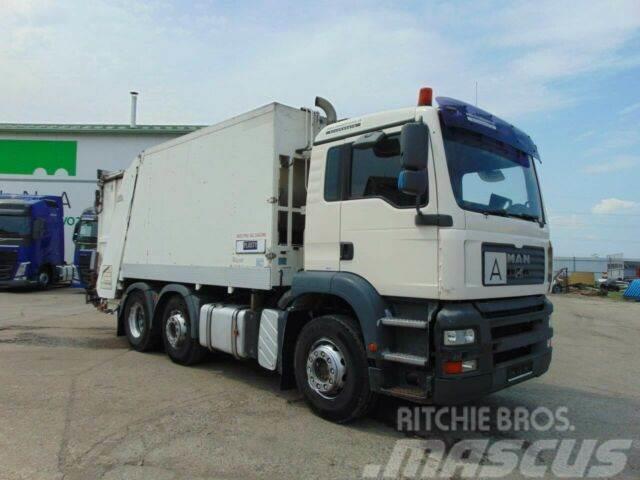 MAN TGA 26.310 garbage truck 6x2, E3 vin 079