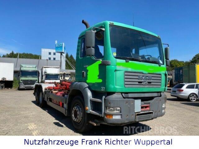 MAN TGA 26.410,Abroller,erst432TKM,TÜV07/21