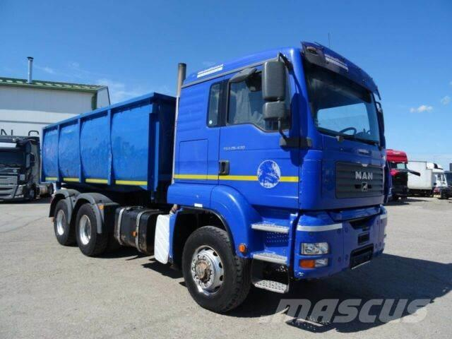 MAN TGA 26.43 twosided kipper 6x6,16m3,EURO 3,729