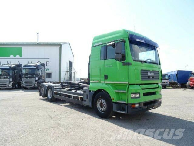 MAN TGA 26.430 6x2 for containers,EURO 3,VIN 824
