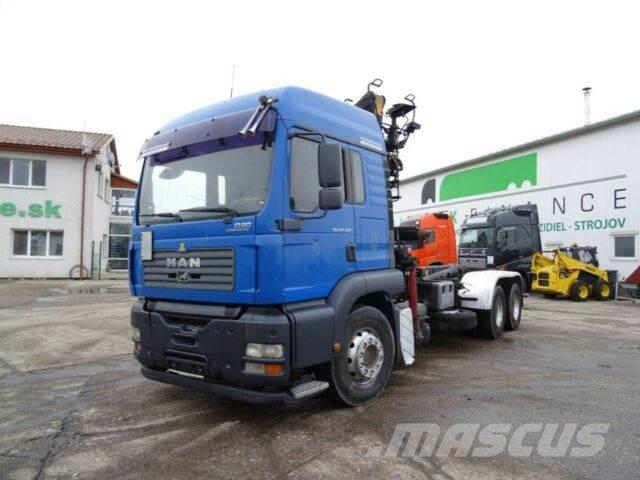 MAN TGA 26.430 for containers 6x4,manual,E3,vin 153