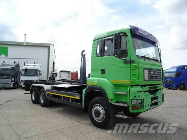 MAN TGA 26.430 for containers 6x6,E3 vin 437
