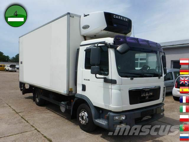 MAN TGL 8.180 4x2 BL CARRIER SUPRA 750 GERMAN TRUCK