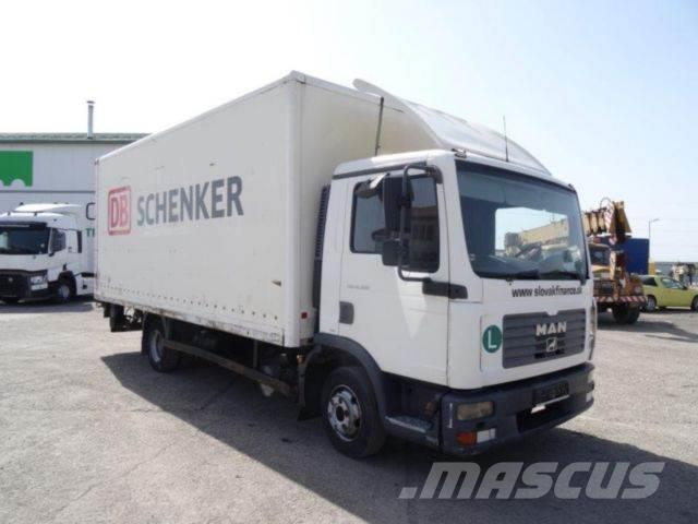 MAN TGL 8.180,manual gearbox,EURO 4,vin 965