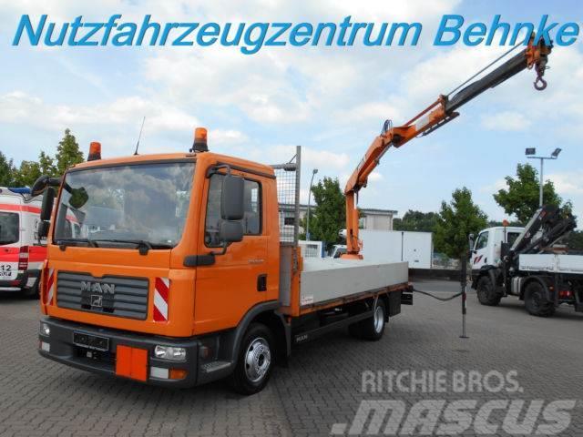 MAN TGL 8.210 Pritsche m. Kran/ 2x AHK