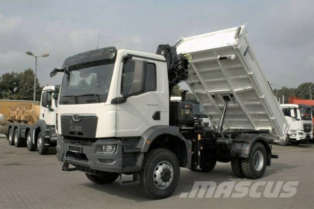 MAN TGM 18.320 4x4 Euro6d Hiab X-HiDuo 118BS-2