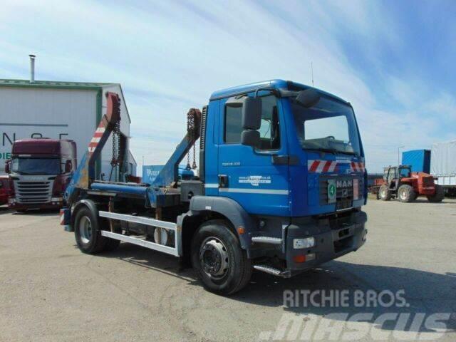 MAN TGM 18.330 garbage truck EURO 4 vin 458