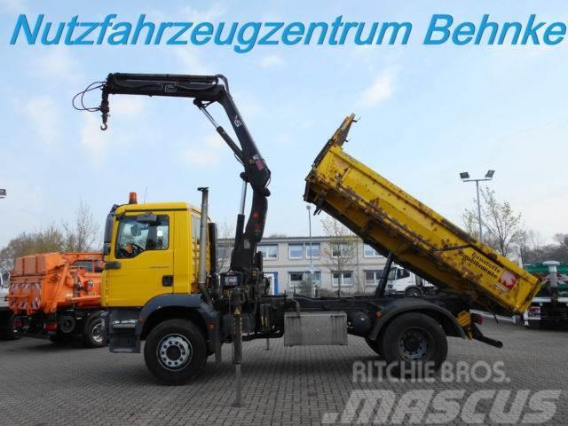 MAN TGM 18.330 Kipper/ Kran+FB/ AHK + Ölanschl.