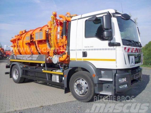 MAN TGM 18.340 4x2 LL / Dobrowolski SKW 10