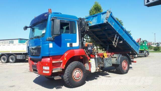 MAN tgs 18.360 4x4 bb HIAB KRAN / GERMAN BREIF