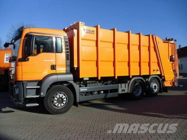 MAN TGS 26.320 6x2-4 BL / Zoeller Medium XL 22