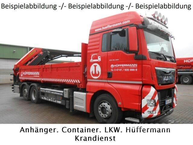 Rub Baustoffe used tgs 26 460 6x2 baustoff palfinger pk53002 crane trucks year