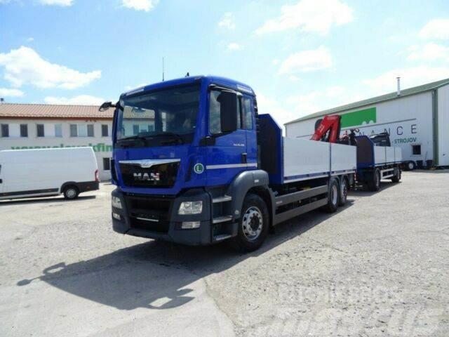 MAN TGS 26.480 6x2,E6,with crane+SVAN,vin 152+074