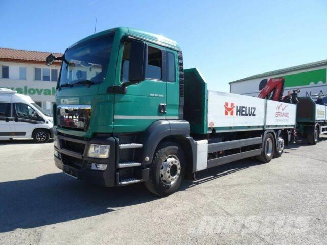 MAN TGS 26.480with crane 6x2,E5+SVAN trailer,932+063