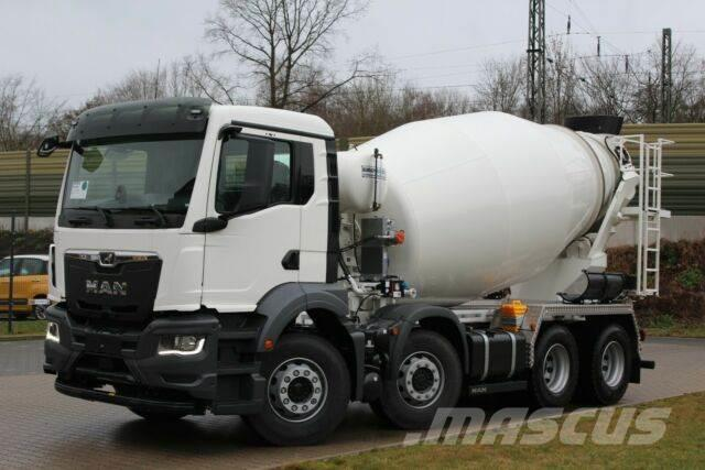 MAN TGS 32.430 8x4 / Euromix MTP EM 9m³ R TG 3 NEU