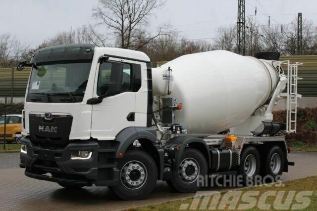 MAN TGS 32.430 8x4 / Euromix MTP EM 9m³ SL TG 3 NEU