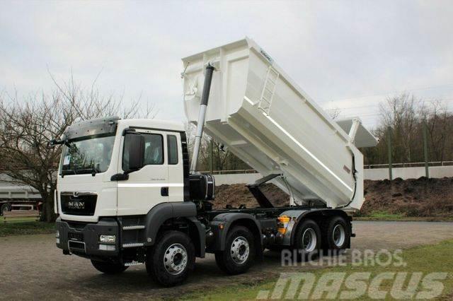 MAN TGS 41.400 8x4 Kipper EuromixMTP TM / EURO 5