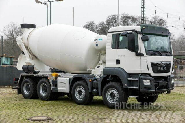 MAN TGS 41.420 8x4 / Euromix Beton 10m³ / EURO 6