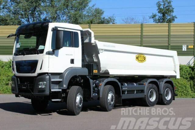 MAN TGS 41.420 8x8/ Mulden Kipper / EURO 6