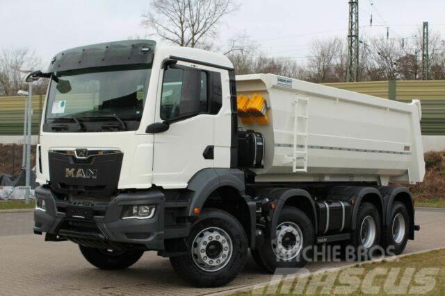 MAN TGS 41.430 8x4 / Kipper 18m³ / EURO 6