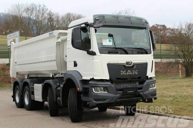 MAN TGS 41.430 8x4 / Kipper 16m³ / EURO 6