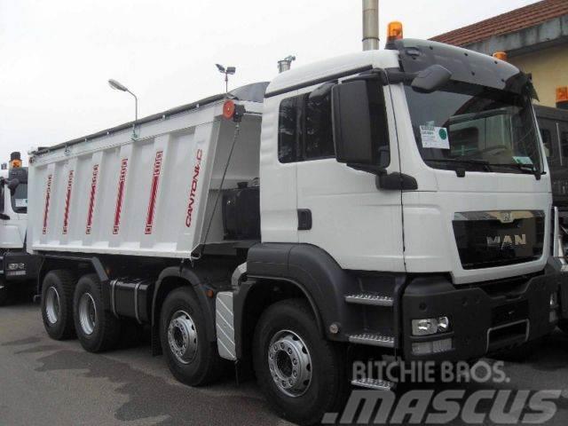 MAN TGS 41400 8X4 Mulden 20m³