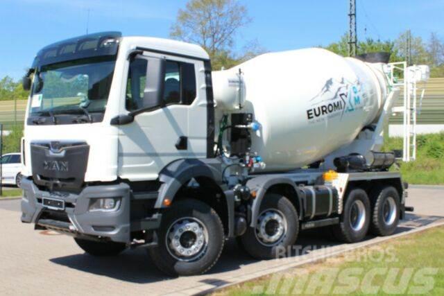 MAN TGS 41430 8X4 Euro6d EuromixMTP 9m³