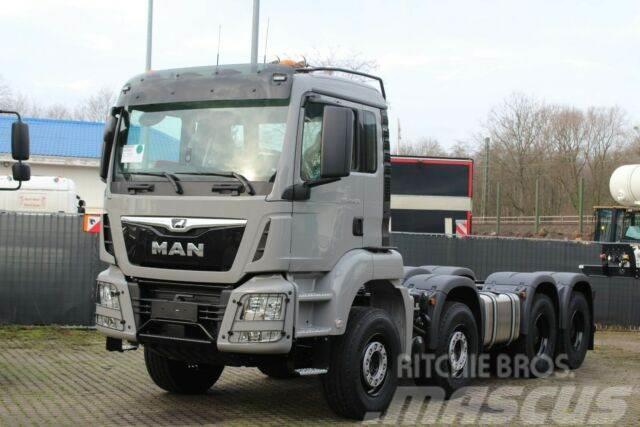 MAN TGS 41470 8X4 Mulden-Kipper 18m