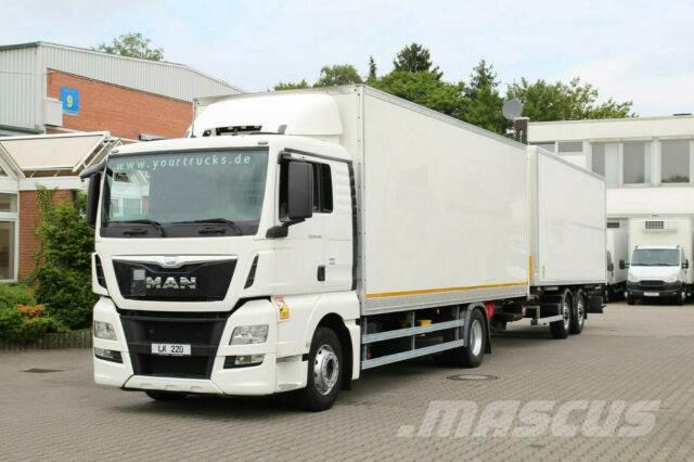 MAN TGX 18.440 E6/Koffer/kompletter Zug/Liege/Navi