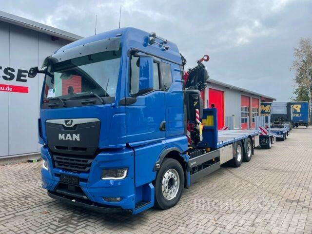 MAN TGX 26.640 6x2-4 BL mit Fassi 365 Kran Container